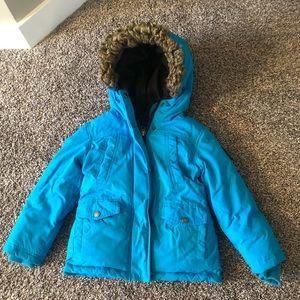Eckored Down Filled Girls Winter Coat